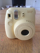 Fujifilm Instax Mini 8 Yellow Instant Film Camera