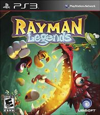 PLAYSTATION 3 RAYMAN LEGENDS - BRAND NEW! - FREE 1ST CLASS SHIP WITH TRACKING!