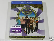 Charlie and the Chocolate Factory Blu-ray Steelbook [Import] NEW REGION FREE