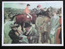 POSTCARD SPORT HORSE RACING - THE RACECOURSE - JEAN LOUIS FORAIN