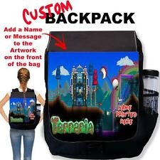 Personalised Terraria Custom Backpack Rucksack School Bag Sport TR03