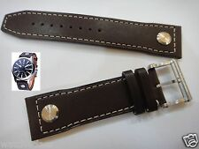 22mm Genuine BALL NM1080C Brown Leather strap/band/bracelet Engineer Master II