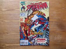 1994 VINTAGE MARVEL AMAZING SPIDER-MAN #395 vs PUMA SIGNED JM DEMATTEIS,WITH POA