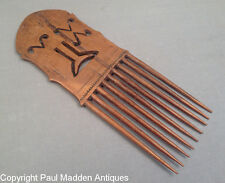 Antique Folk Carved Comb