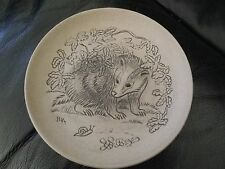 Rare Poole Pottery Stoneware Badger Plate