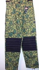 NEW! MENS PCS (PURSUIT COMBAT SYSTEMS) PAINTBALL PANTS DIGITAL JUNGLE SZ. Medium