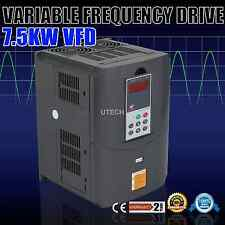 NEW UPDATED 7.5KW 10HP 33A 220V VFD VARIABLE FREQUENCY DRIVE INVERTER