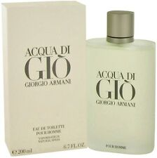 Acqua Di Gio Cologne By Giorgio Armani Men Perfume New EDT Spray 6.7 oz 200 ml