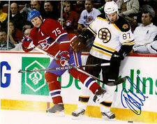 Brian McGrattan Boston Bruins tough guy signed 8x10 B Nashville Predators