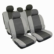 9PC UNIVERSAL FRONT REAR PROTECTOR CAR SEAT COVERS SET CLIP WASHABLE WATERPROOF