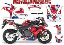 AMR RACING DEKOR GRAPHIC KIT HONDA CBR 250, 500R, 600RR, 1000RR UNION JACK B