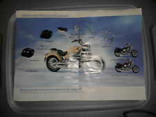 BMW R 1200 C R1200C Motorcycle Equipment Accessories Poster Brochure