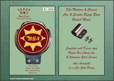 Royale Car Motor Cycle Bar Badge - BSA GOLD STAR EMBLEM - B1.1608