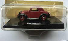 "DIE CAST "" FIAT 500 A - 1936 "" 100 ANNI DELL' AUTOMOBILE"