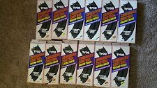 "Vintage Tyco Command Control Curved Racing Track Sections 9"" NOS"