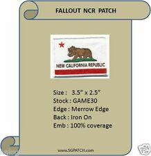 NEW CALIFORNIA REPUBLIC FLAG - FALLOUT PATCH - GAME30