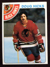 1978-79 Topps Hockey DOUG HICKS CHICAGO BLACK HAWKS  LOT OF 2 NM-MT+