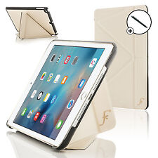 White Origami Smart Case Cover Stand for Apple iPad Mini 4 2015 + Stylus