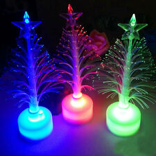 Christmas Xmas Tree Color Changing LED Light Lamp Home Party Decoration Mini