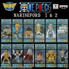 ONE PIECE WCF World Collectable Figure MARINEFORD 1 & 2 Complete set