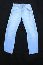 LEVIS 131 Engineered Relaxed Mens Faded Jeans Light Blue Denim Red Tab W26 L32