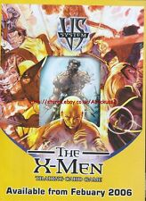"The X-Men Trading Card Game ""From February"" 2006 Magazine Advert #4736"