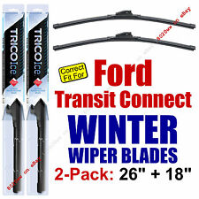 WINTER Wipers 2-Pack Premium - fit 2010-2013 Ford Transit Connect - 35260/35180