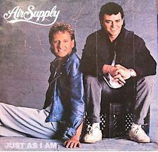 ++AIR SUPPLY just as i am/crazy love SP 1985 ARISTA RARE NM++