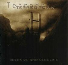 Terrodrown - Colonize and Regulate CD 2008 industrial black metal
