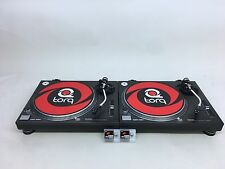 Technics SL-1200 MK3  PAIR Turntables in Good Condition  w/ 2 new N44-7 Stylus