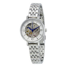Fossil Jacqueline Mini Skeleton Dial Stainless Steel Ladies Watch ME3071