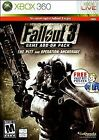Fallout 3 Game Add-On Pack The Pitt and Operation Anchorage G Microsoft XBOX 360