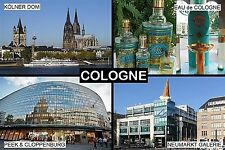 SOUVENIR FRIDGE MAGNET of COLOGNE KÖLN GERMANY