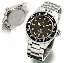 "New Mens STEINHART ""OCEAN one Vintage Military"" Divers watch Warranty Swiss Made"
