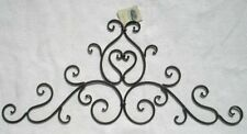Decorative Wrought Iron Metal Wall Plaque, New, Free Shipping