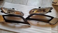 2017 Ford Fusion  Complete Fog Light Set, With Black/Crome Bazel  OEM Used