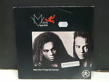 MILLI VANILLI Baby don't forget my number COOL178 UK