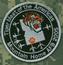 NTM NATO TIGER MEET νeΙcrο PATCH COLLECTIONS: NTM 2005 Mountain Home Air Base