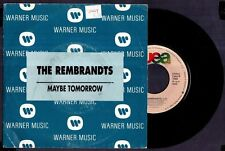 "THE REMBRANDTS - Maybe Tomorrow / Maybe Tomorrow - SPAIN 7"" Wea 1992 - Promo"