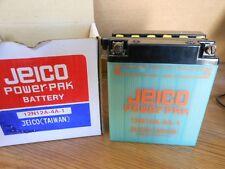 NOS Jeico Vintage Motorcycle Battery 12N12A-4A-1 CB350 CL350 CB500 TX650 KZ400