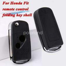for Honda FIT outer key shell housing no chip auto car smart card replacement