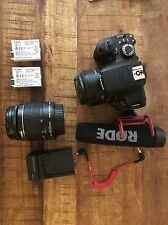 Canon EOS Rebel T4i / EOS 650D 18.0 MP Digital SLR Camera - Kit With Extras!