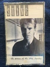 STING the dream of the blue turtles CASSETTE SEALED 1985