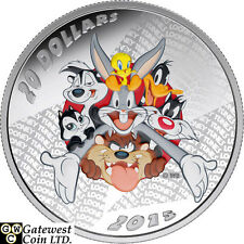 2015 $20 Fine Silver Coin - Looney Tunes (TM) ; Merrie Melodies (17330)