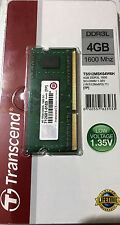 Transcend 4GB DDR3-1600/PC3-12800 (TS512MSK64W6H) Laptop RAM