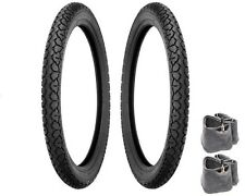 SHINKO MOPED TIRE TUBE PACKAGE 17 X 2.25 Honda PA50 PA50II Hobbit Camino