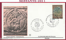 ITALIA FDC FILAGRANO I LONGOBARDI CRISTO RISORTO 1990 CIVIDALE DEL FRIULI T102