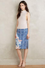 NEW ANTHROPOLOGIE Becancour Pencil Skirt 0 XS by Moulinette Soeurs