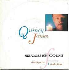 QUINCY JONES FEATURING SIEDHAN GARRETT AND CHAKA KHAN-THE PLACES YOU FIND LOVE