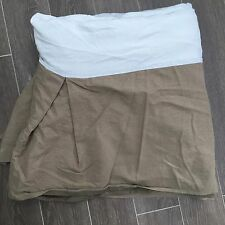 Calvin Klein Home Bed Skirt King Beige